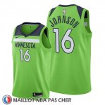 Maillot Minnesota Timberwolves James Johnson Statement 2019-20 Vert