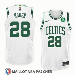 Maillot Boston Celtics Abdel Nader No 28 Association 2018 Blanc