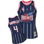 Maillot Retro Rockets Barkley 4 Bleu