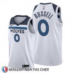 Maillot Minnesota Timberwolves D'angelo Russell Association 2019-20 Blanc