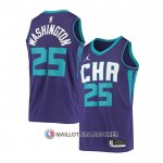 Maillot Charlotte Hornets P.j. Washington Statement 2020-21 Volet