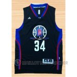Maillot Los Angeles Clippers Piece #34 Noir