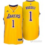 Maillot Los Angeles Lakers Russell #1 Jaune