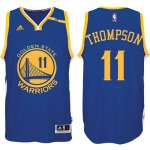 Maillot Authentic Warriors Thompson 11 Bleu