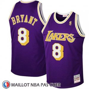 Maillot Enfant Los Angeles Lakers Kobe Bryant No 8 Retro Volet