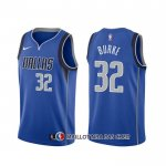Maillot Dallas Mavericks Trey Burke Icon Bleu 2020