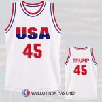 Maillot Trump Usa Nba 1992 Blanc