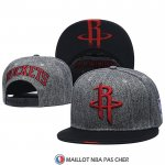 Casquette Houston Rockets Gris Noir