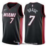 Maillot Authentique Miami Heat Dragic 2017-18 7 Noir