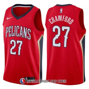 Maillot New Orleans Pelicans Jordan Crawford Statement 27 2017-18 Rouge