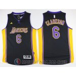 Maillot Los Angeles Lakers Clarkson #6 Noir