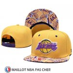Casquette Los Angeles Lakers 9FIFTY Snapback Jaune