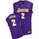 Maillot Los Angeles Lakers Fisher #2 Pourpre