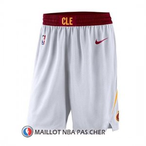 Short Cleveland Cavaliers 2017-18 Blanc