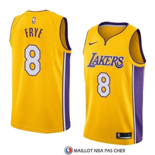 Maillot Los Angeles Lakers Channing Frye Icon 2017-18 Or