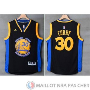 Maillot Golden State Warriors Curry #30 Noir Bleu