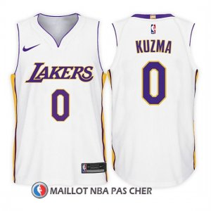 Maillot Enfant Los Angeles Lakers Lonzo Ball Association 2017-18 0 Blanc