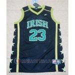 Maillot James Irish Ecole Secondaire #23 Noir