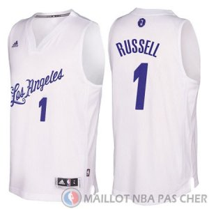 Maillot Russell Los Angeles Lakers Noel #1 Blanc