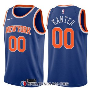 Maillot New York Knicks Enes Kanter Icon 00 2017-18 Bleu