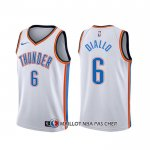 Maillot Oklahoma City Thunder Hamidou Diallo Association Blanc