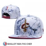 Casquette Cleveland Cavaliers 9FIFTY Snapbacksnapback Blanc
