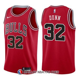 Maillot Chicago Bulls Kris Dunn Icon 32 2017-18 Rouge