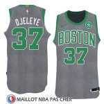 Maillot Noel 2018 Boston Celtics Semi Ojeleye No 37 Vert