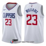 Maillot Los Angeles Clippers Lou Williams Association 23 2017-18 Blanc