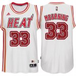 Maillot Retro Heat Mourning 33 Blanc