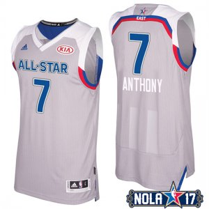 Maillot All Star 2017 Knicks Anthony Gris 7