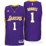 Maillot Los Angeles Lakers Russell #1 Violet