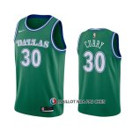 Maillot Dallas Mavericks Seth Curry Hardwood Classics 2020-21 Vert