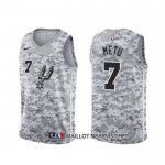 Maillot San Antonio Spurs Chimezie Metu Earned Camuflaje