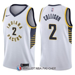 Maillot Indiana Pacers Darren Collison Association 2 2017-18 Blanc