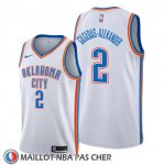 Maillot Oklahoma City Thunder Shai Gilgeous Alexander Association Blanc