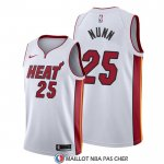 Maillot Miami Heat Kendrick Nunn Association 2019-20 Blanc