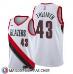 Maillot Portland Trail Blazers Anthony Tolliver Association Blanc