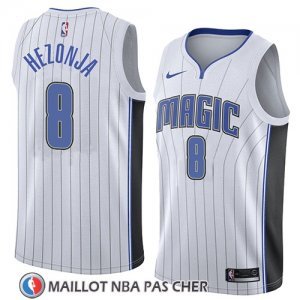 Maillot Orlando Magic Mario Hezonja No 8 Association 2018 Blanc
