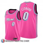 Maillot Miami Heat Meyers Leonard Earned Rosa