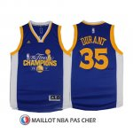 Maillot Champion Final Golden State Warriors Durant 35 2017 Bleu