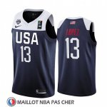 Maillot USA Brook Lopez 2019 FIBA Basketball World Cup Bleu