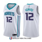 Maillot Charlotte Hornets Dwight Howard Association 12 2017-18 Blanc