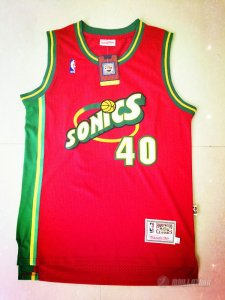 Maillot Seattle Supersonics Kemp #40 Rouge