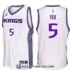 Maillot Sacramento Kings De'aaron Fox Home 5 2017-18 Blanc