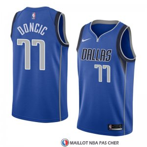 Maillot Dallas Mavericks Luka Doncic 11 Icon 2017-18 Bleu