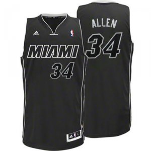 Maillot Back to Noir Allen Miami Heat Revolution 30