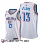 Maillot Oklahoma City Thunder Justin Patton Association Blanc