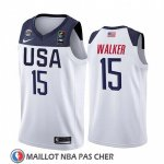 Maillot USA Kemba Walker 2019 FIBA Basketball World Cup Blanc