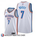 Maillot Oklahoma City Thunder Darius Bazley Association Blanc